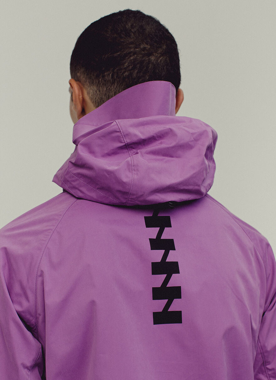 TERRACE JACKET, Purple, hi-res