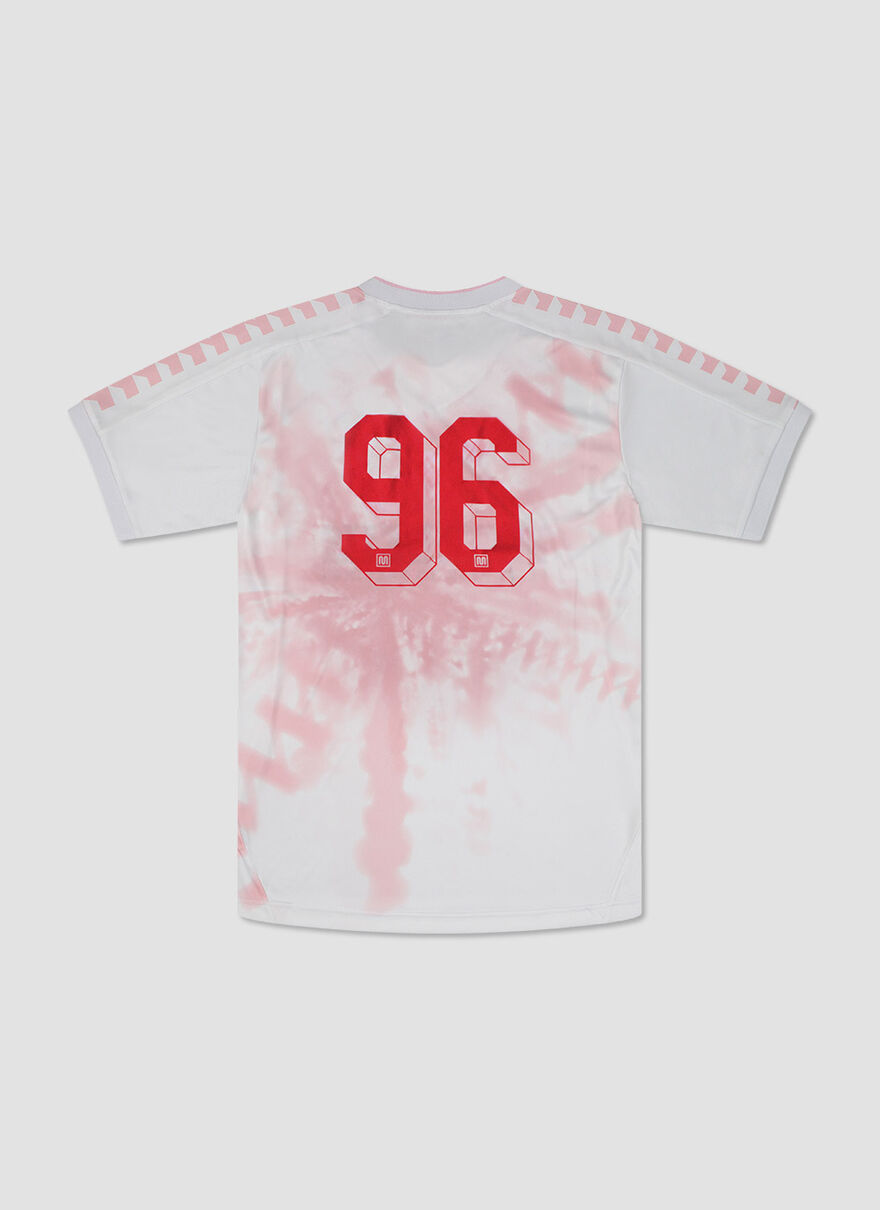 TIE DYE REPLICA SHIRT YMC, White, hi-res