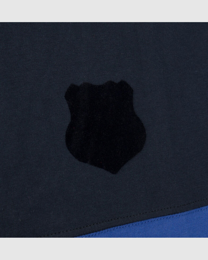 Warm-Up Tee, Navy, hi-res