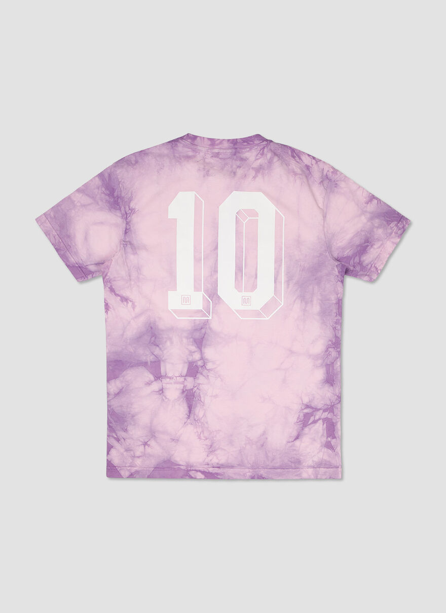 The Sol Tie Dye Tee, Purple, hi-res
