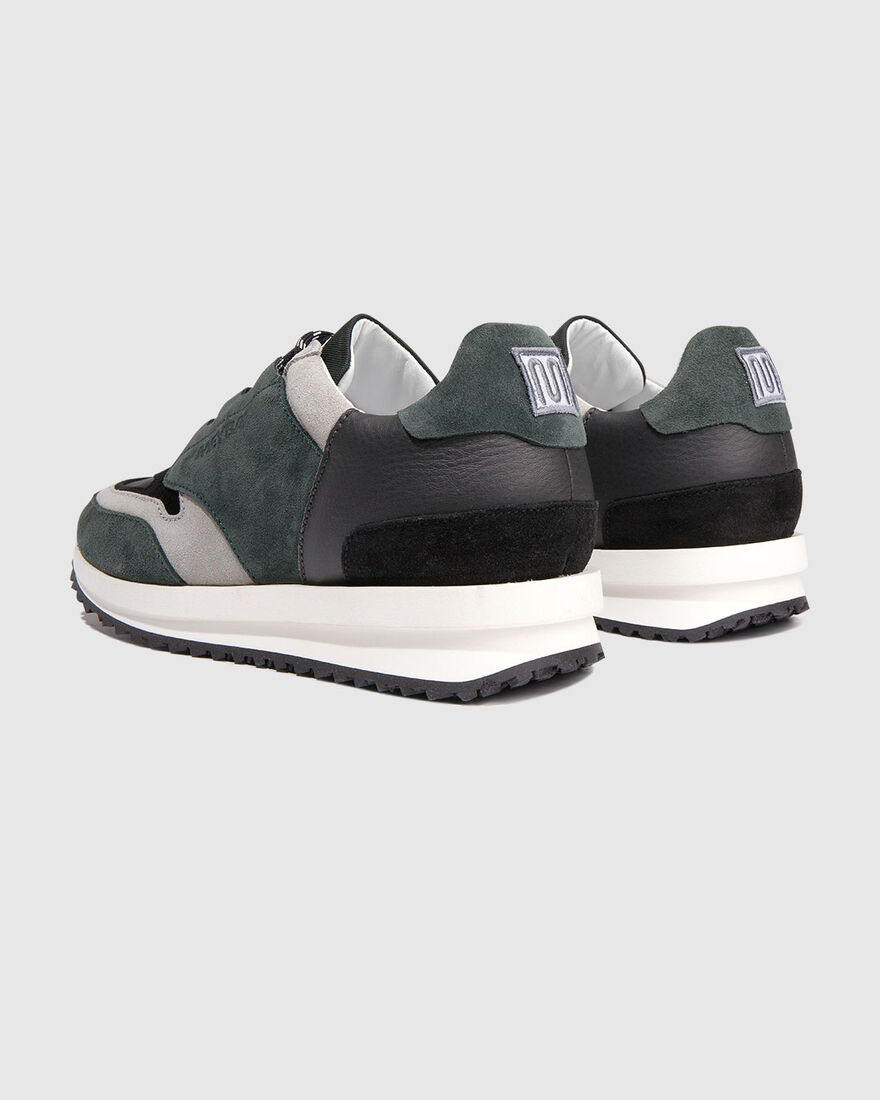 City Runner - Olive/Ochre - Premium Textile/Soft N, Green, hi-res