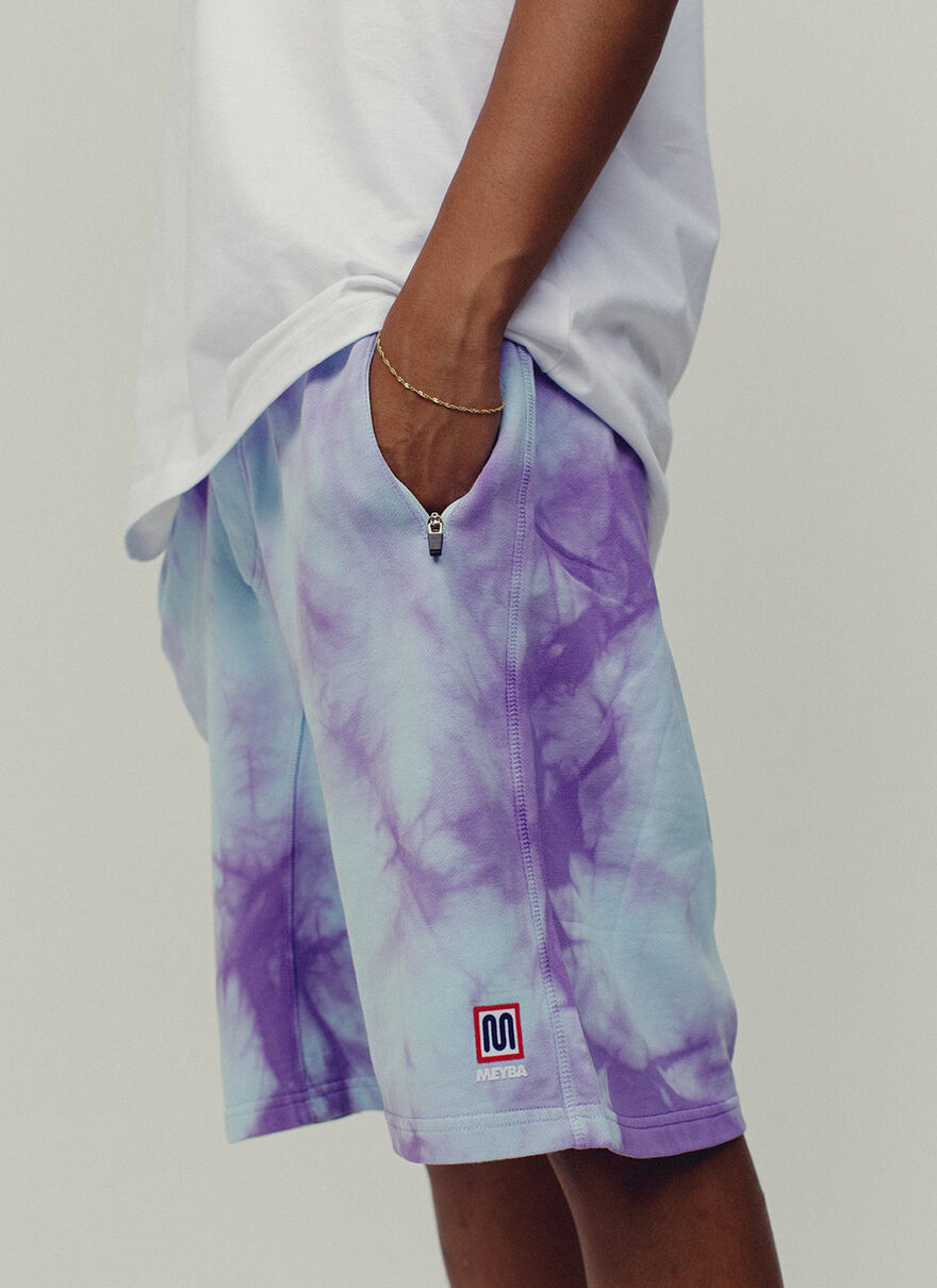 Sol Sweat Short, Blue, hi-res