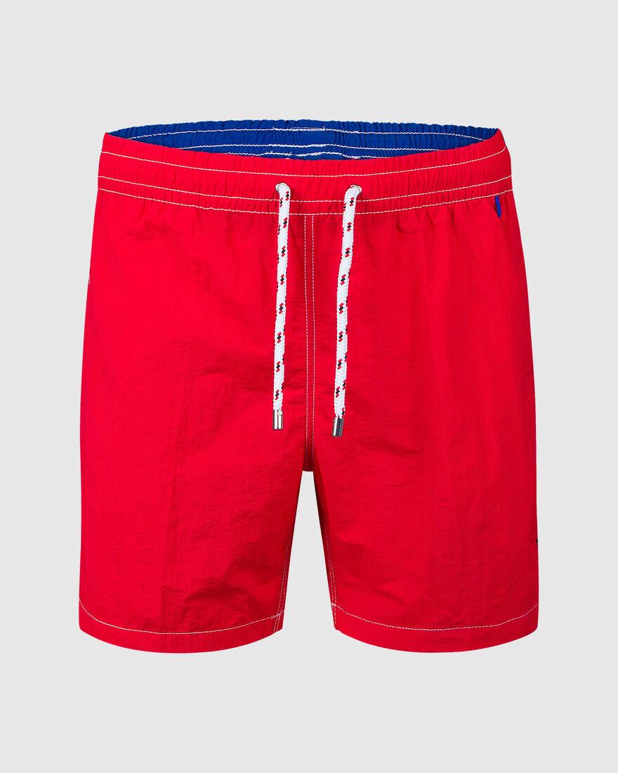 Capri Swimshort, Red, hi-res