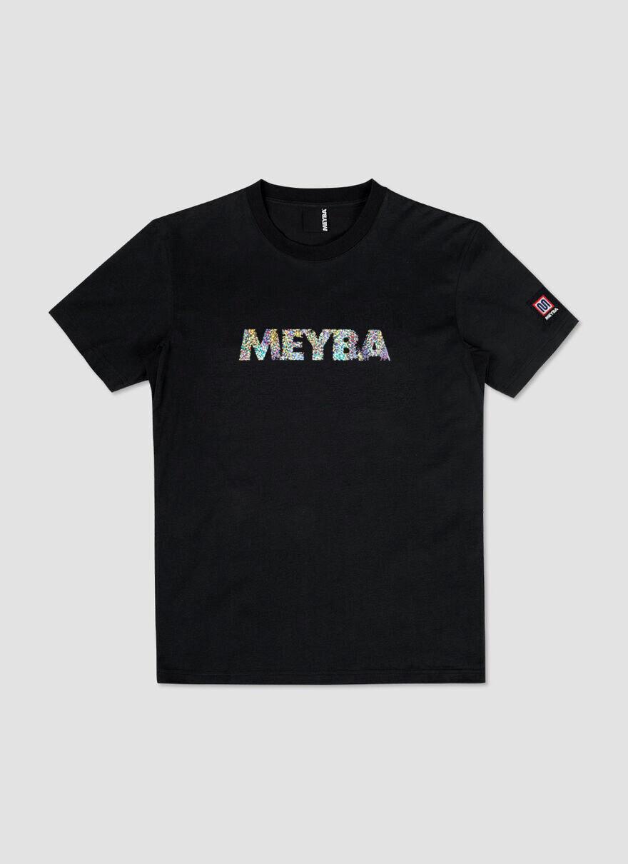 FC MEYBA SHINY TEE, Black, hi-res