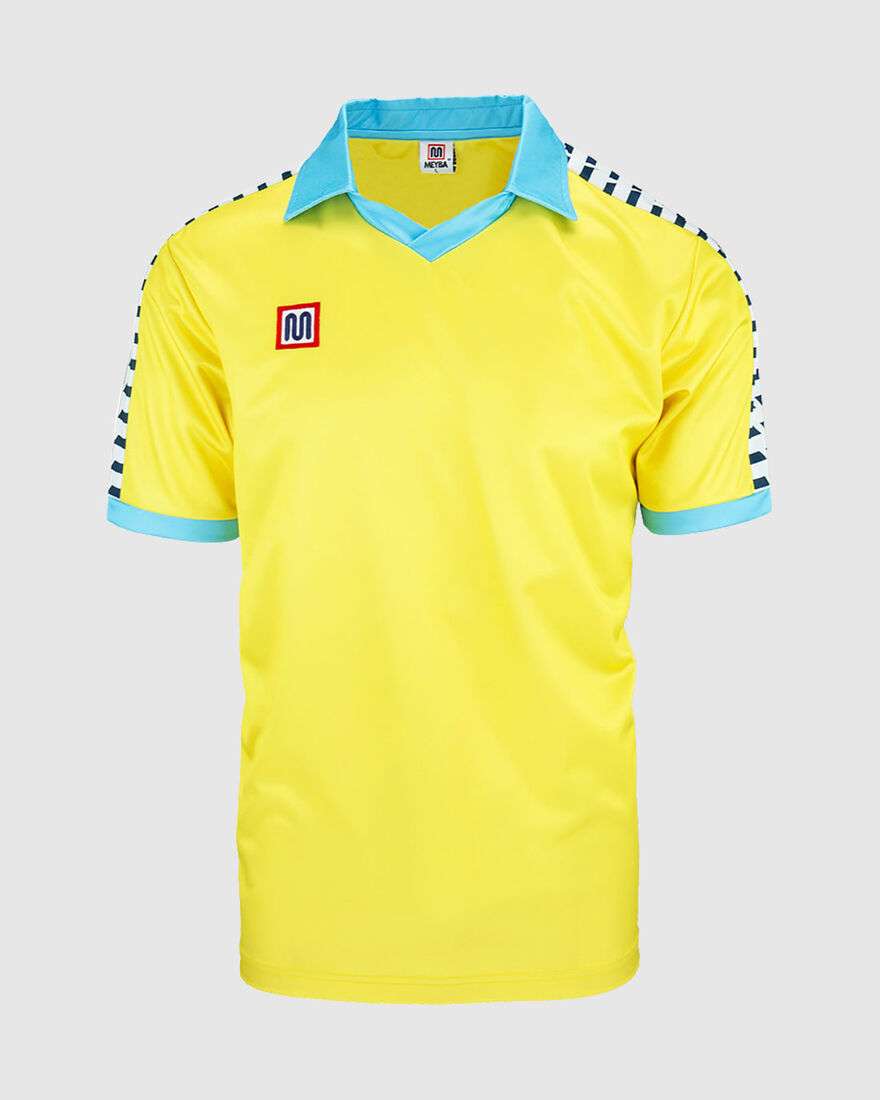 Cadiz Home Shirt 1984, Yellow, hi-res