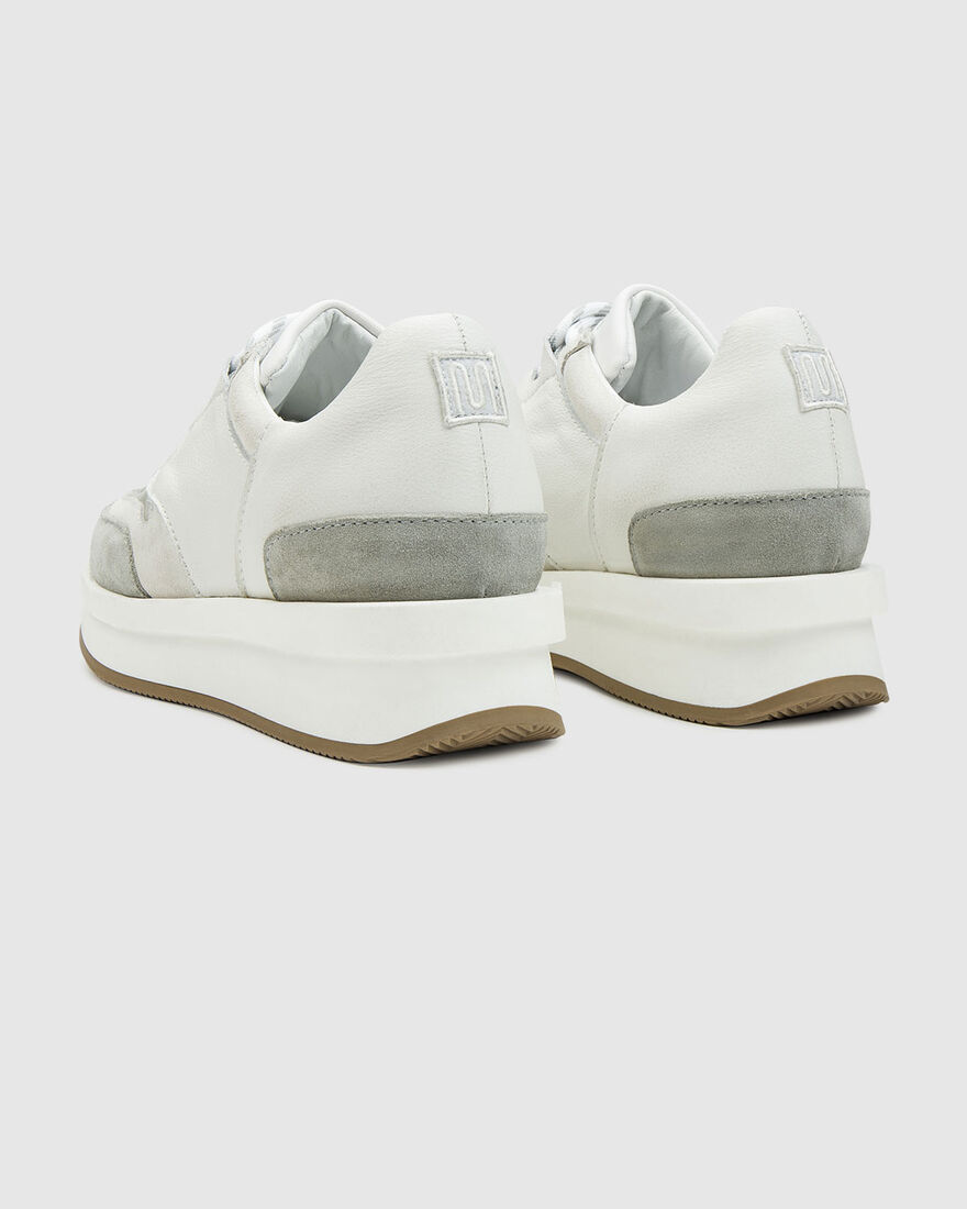 City Runner - White - Premium Textile/Soft Nappa, White, hi-res