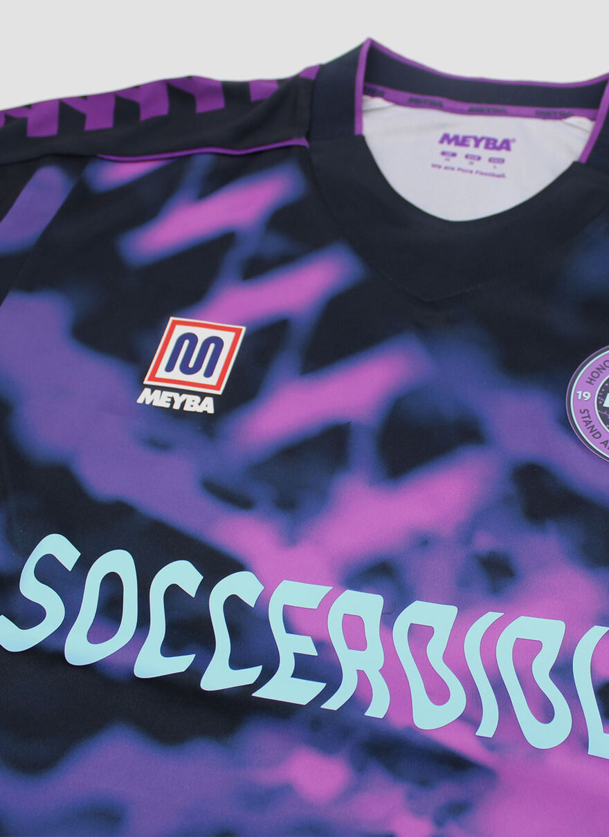 Tie Dye Replica Shirt Soccer Bible, Navy, hi-res
