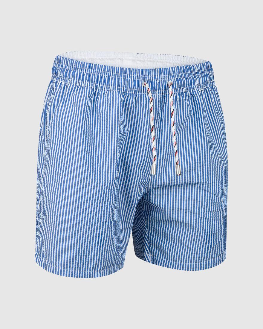 Capri Swimshort, Blue/White, hi-res