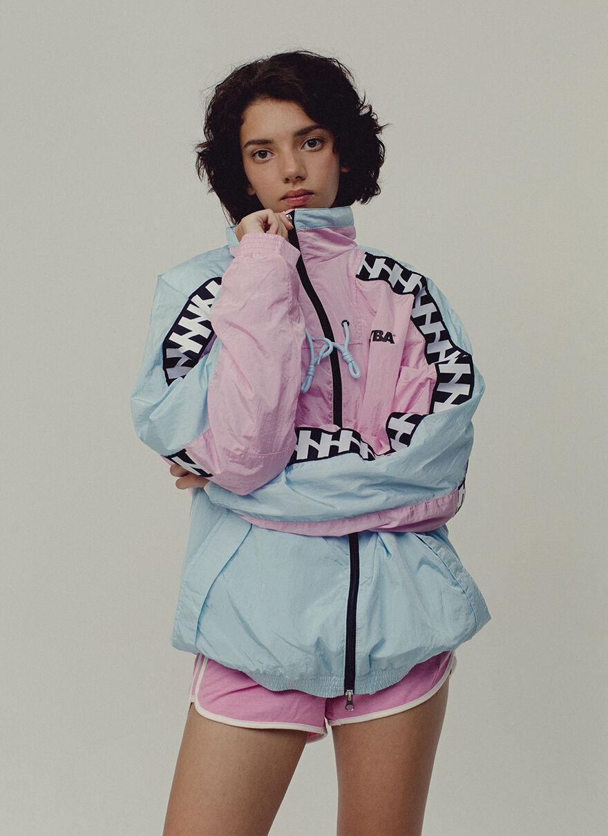 Barrio Shell Jacket, Blue, hi-res