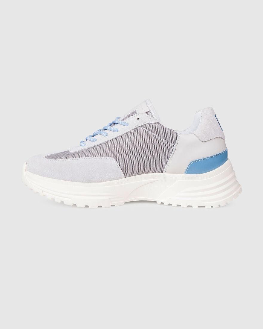 Running Hike - Olive/Cream - Premium Textile/Silk , Grey, hi-res
