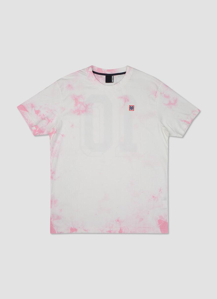 The Sol Tie Dye Tee, Pink, hi-res