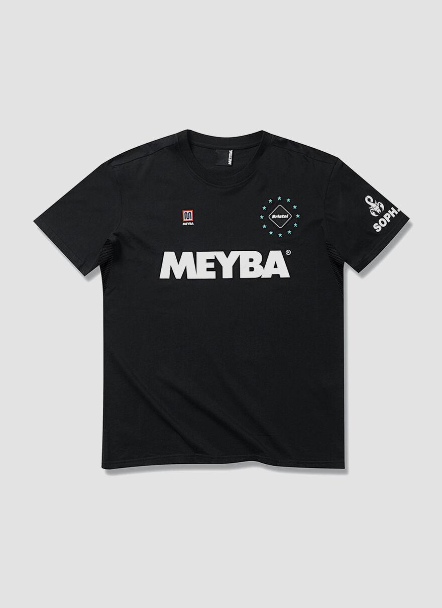 BLACK_MEYBA X FCRB TEE, Black, hi-res