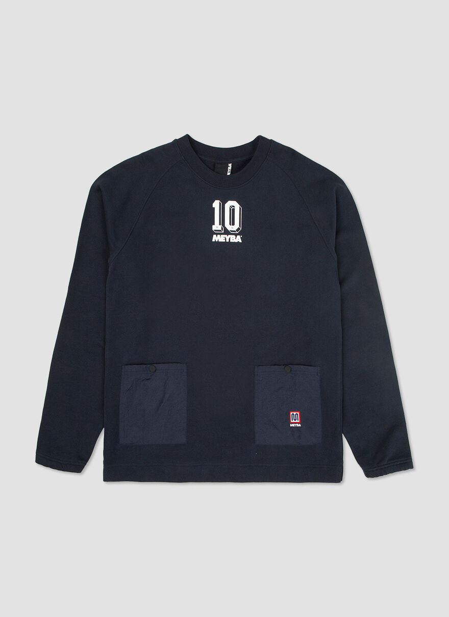 The Dug Out Sweat, Navy, hi-res