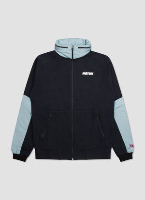 Full Zip Nylon Trim Sweat